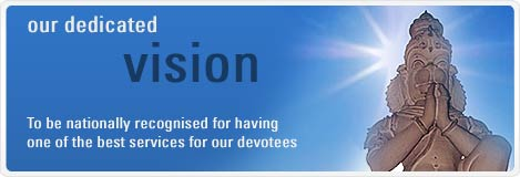 Our dedicated vision